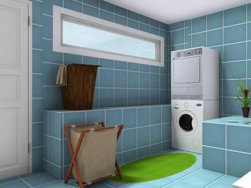 RoomSketcher Raumgestalter herrlicher Badezimmerdesign