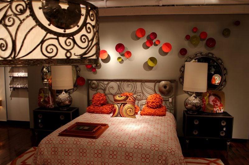 Schlafzimmer: asiatische Möbel im chinesischen Stil