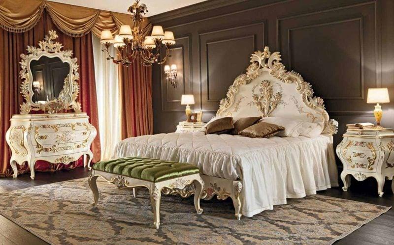 Schlafzimmer einrichten Pracht im Barock Stil