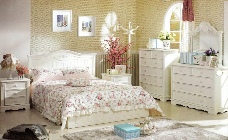 Schlafzimmmer im Landhausstil