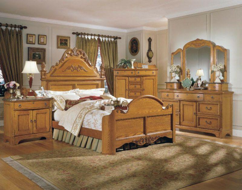 Schlafzimmer einrichten Landhausstil klassischer Look