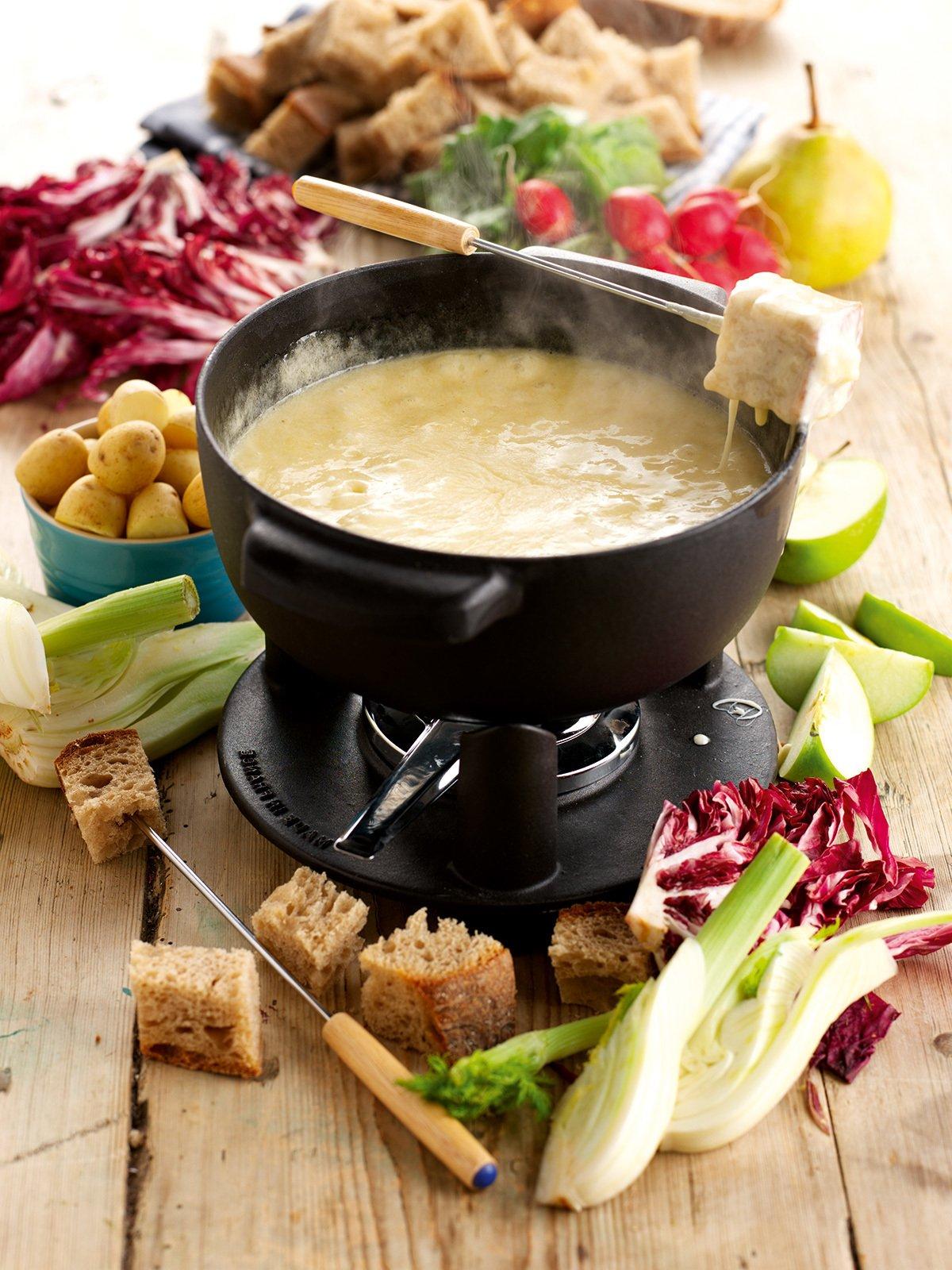Käsefondue Beilagen: 2 leichte Rezepte für Salat als frische ...