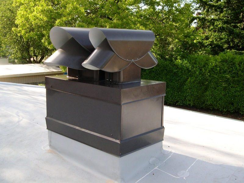 Schornstein verkleiden: Metallarten als Materialien für die Verkleidung