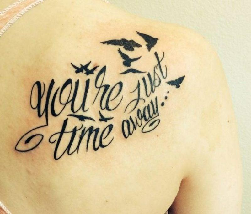 Tattoo Schriftzug kaligraphisch herrlicher Look