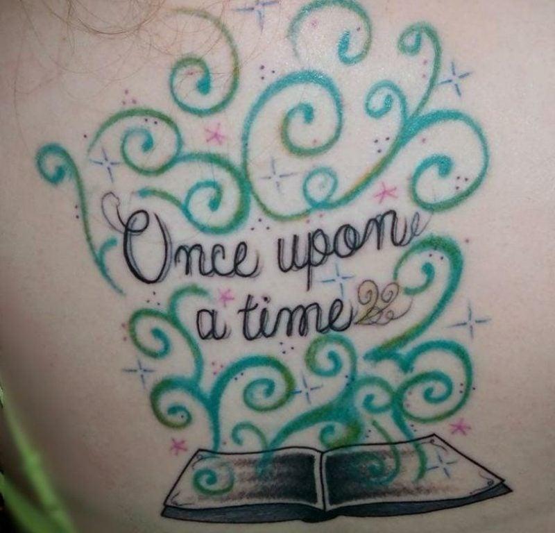 Tattoo Schriftarten Spruch Buch