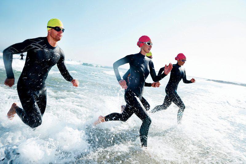 Schwimmen bedeutet Kalorienverbrauch!