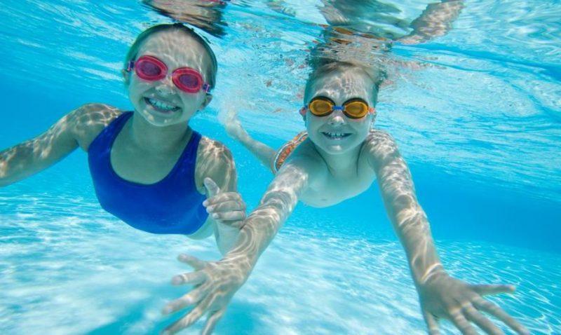 Schwimmen bringt Spaß!