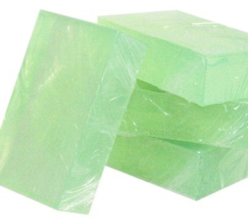 grüne Seife zu Hause machen Anleitung