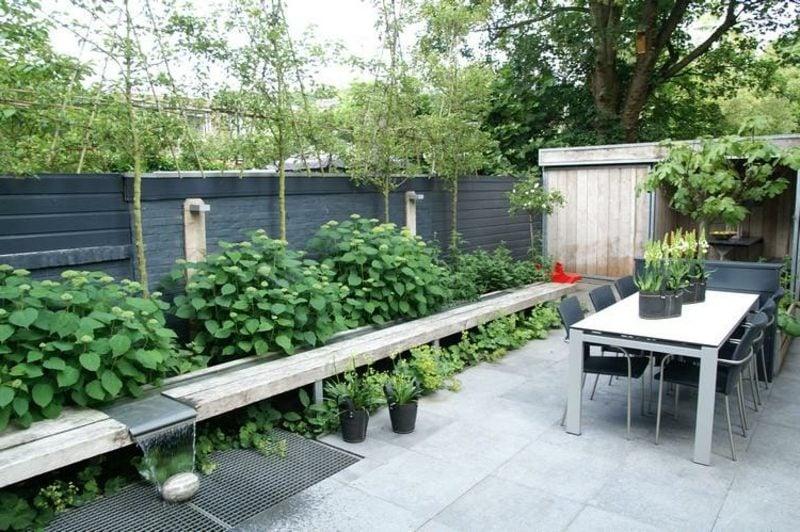 Gartengestaltung Ideen Sitecke Terrasse