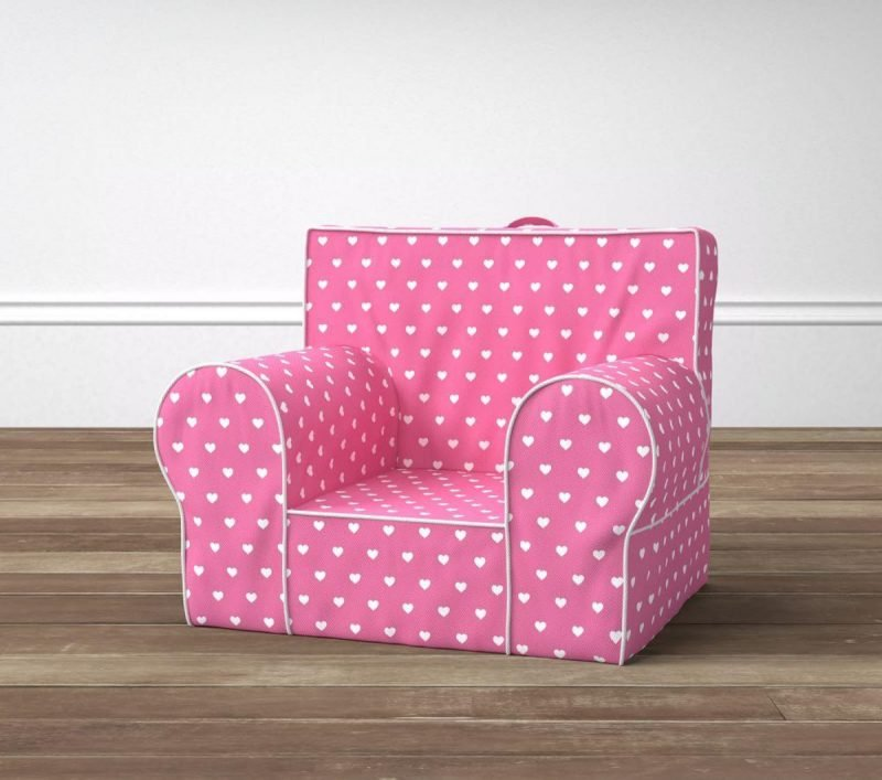 Rosafarbiger Sessel zum Valentinstag!