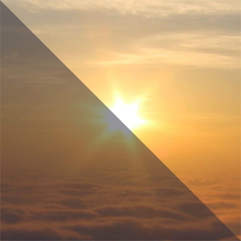 Sonnenschutzfolien: Sonnenstrahlen könnten so lästig in der Wohnung sein