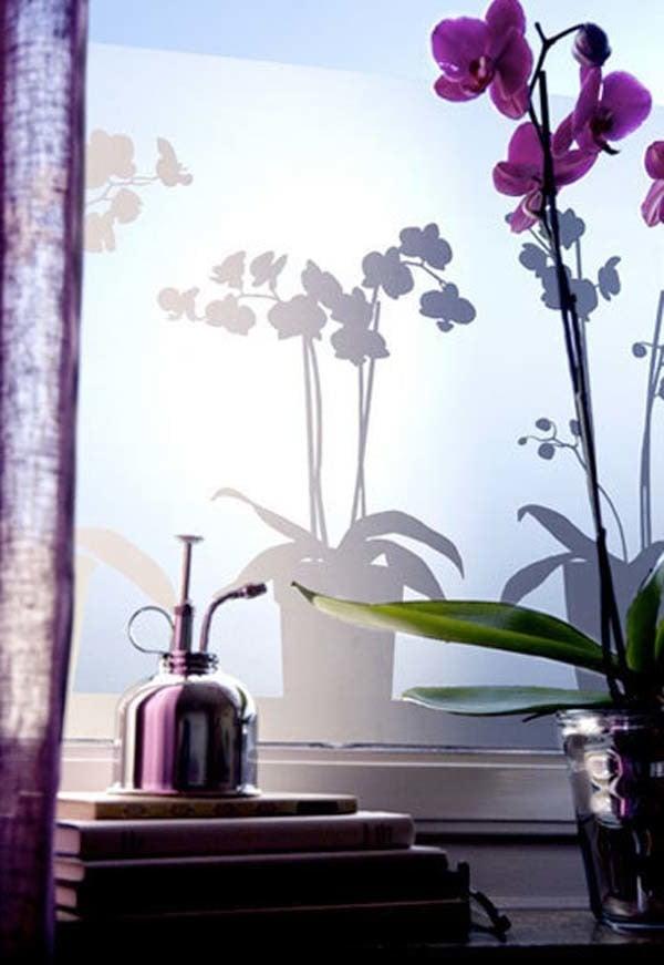 Sonneschutzfolien als Deko-Elemente für Fenster