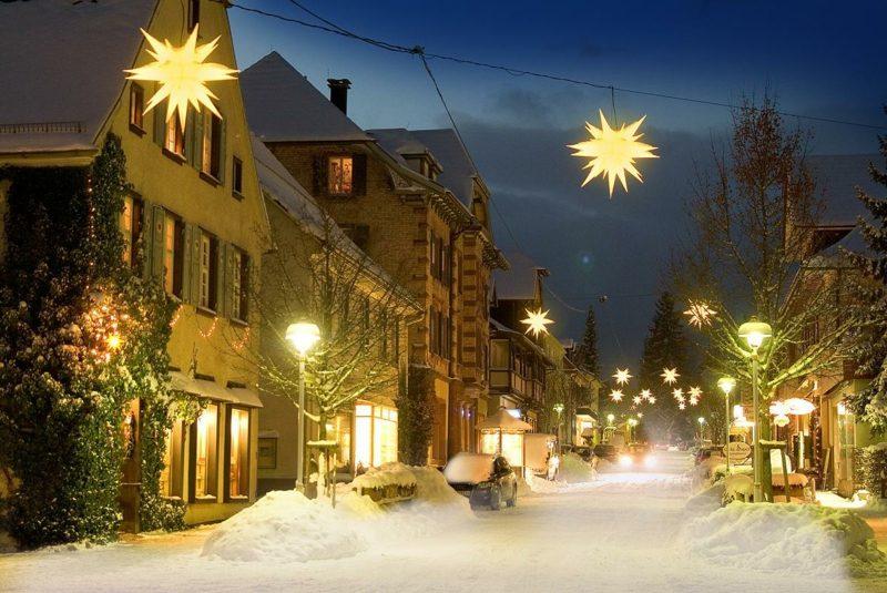 Dekoideen Weihnachten Strasse