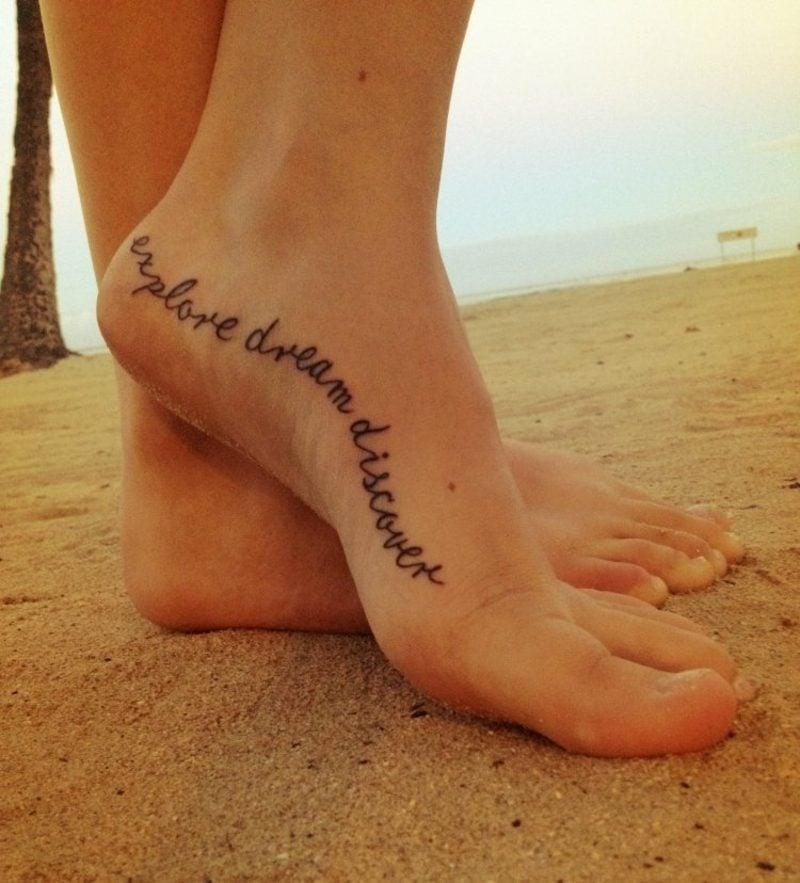 Schriftarten für Tattoo kalligraphisch Ideen und Inspirationen