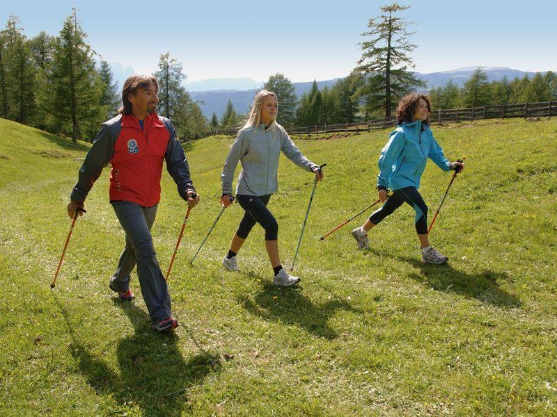 Kalorienverbrauch beim Walken ins Gebirge