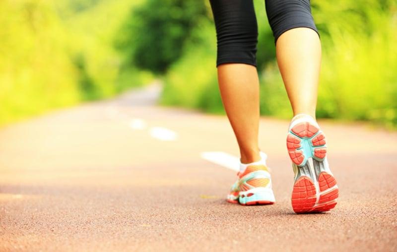 Kalorienverbrauch beim Walken vs. Laufen