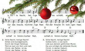 traditionelle Weihnachtslieder Deutschland