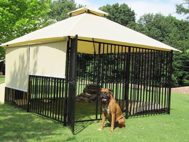 Wunderschönen Hundezwinger selber bauen!