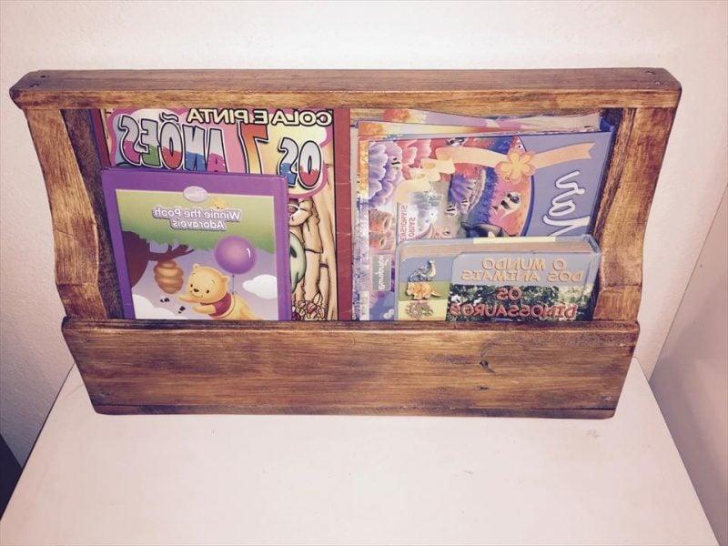 Bücherregal Regal Aus Paletten Palettenmöbel Selber Bauen Möbel Aus Paletten
