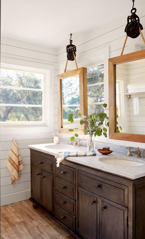 badezimmer ideen selbst machen DIY spiegel