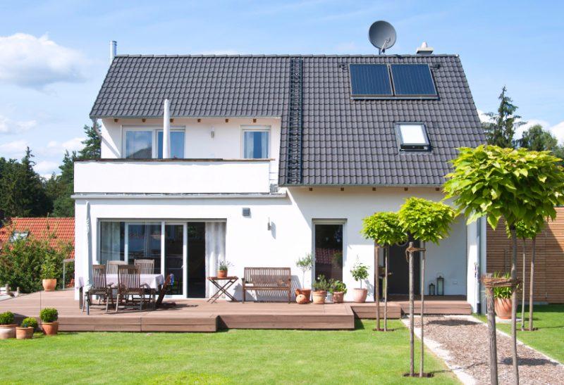 Bausatzhaus Fertighaus