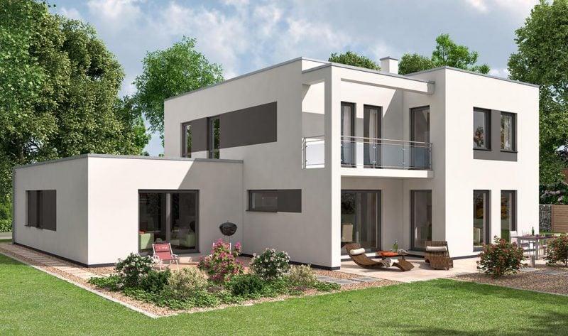 Bausatzhaus Mehrfamiliehaus