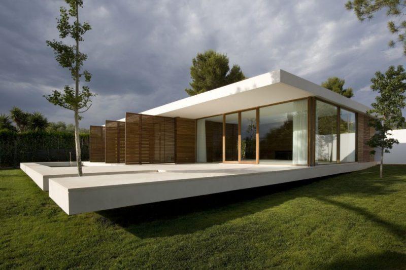 Bausatz im modernen minimalistischen Stil