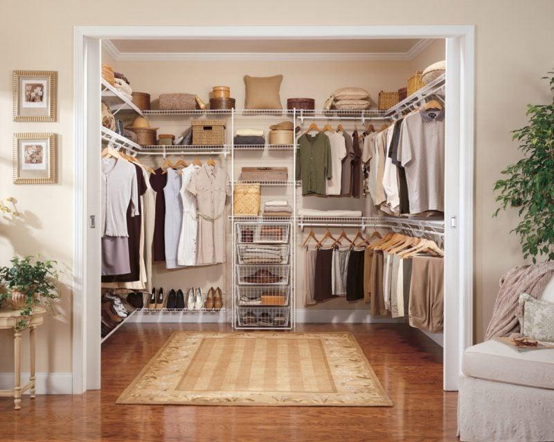 begehbarer kleiderschrank charme eleganz komfort