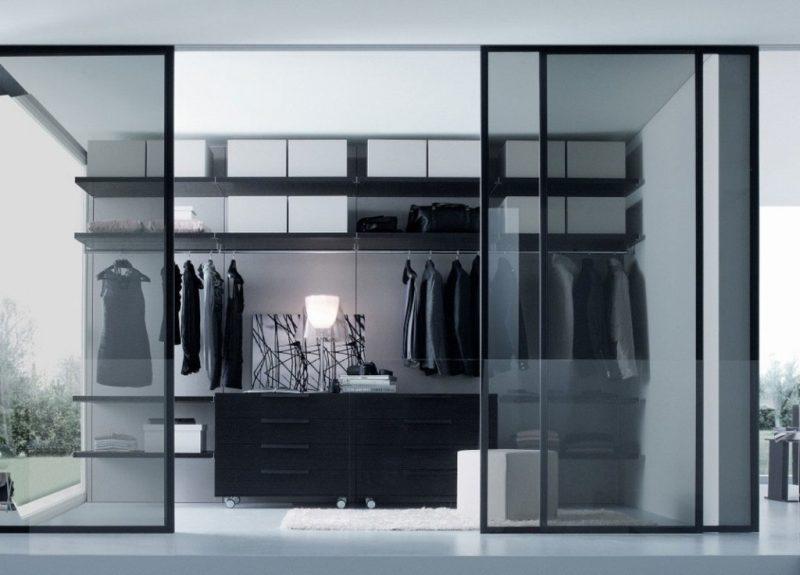 Ankleidezimmer mit fenster ideen  Ordnung im schicken Design: 60 Regalsysteme für Kleiderschränke ...