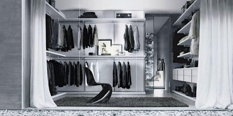begehbarer kleiderschrank design. Black Bedroom Furniture Sets. Home Design Ideas