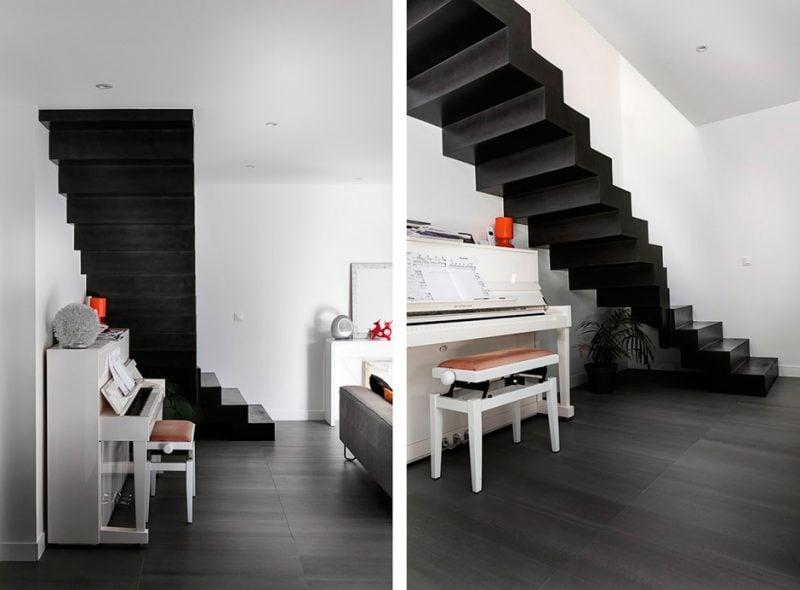 Beton Cire Treppe - einzigartig schön
