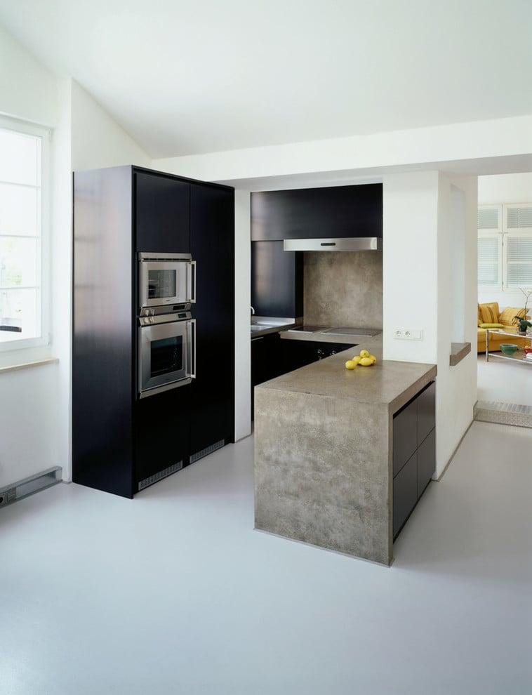 beton cire traumhafte wandgestaltung f r jeden raum bodenbel ge fliesen wandverkleidung. Black Bedroom Furniture Sets. Home Design Ideas