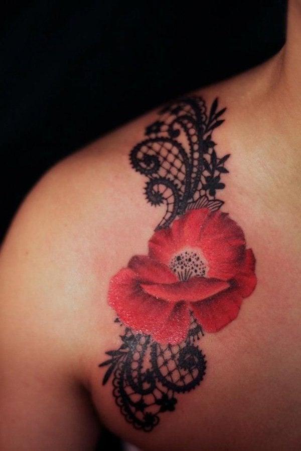 blumen tattoo ideen frauen tattoos frauen