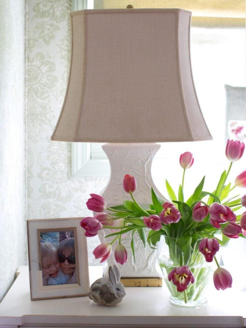 blumendekoration tulpen deko ideen selbst machen