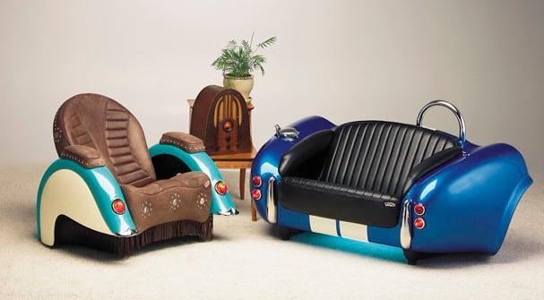 Kreative möbel ideen  Recycling Möbel aus Autoteilen: 46 super kreative Ideen ...