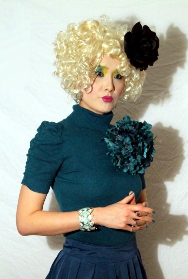 coole accessoires fasching verkleidung blau karneval kostüm frauen armband
