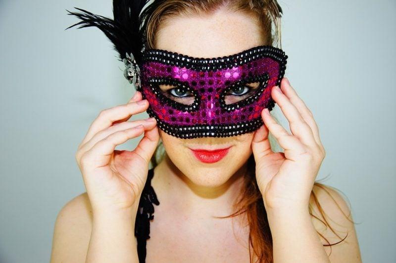 coole accessoires masken fasching verkleidung