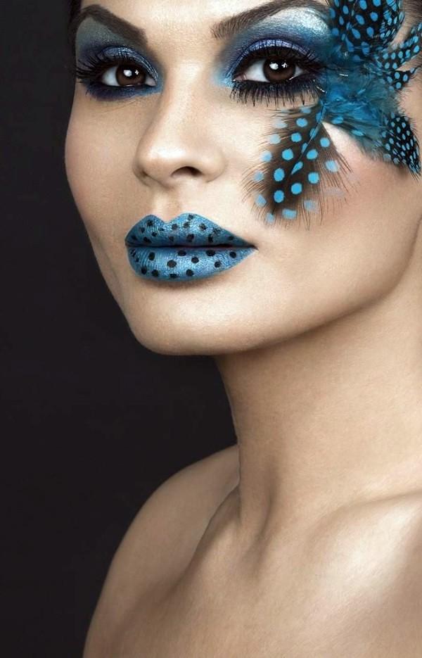 coole accessoires schminken tipps karneval themen karneval kostüm ideen fastnachtkostüm