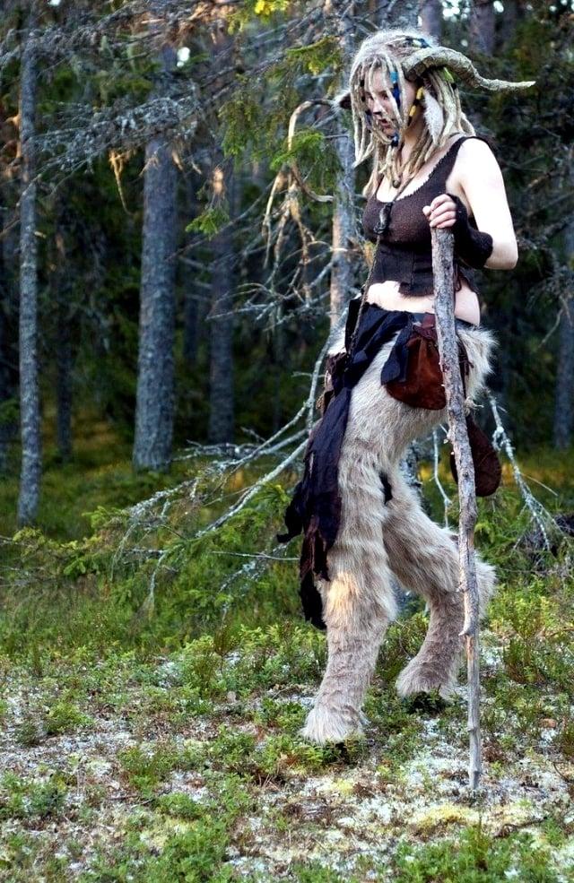 coole faschingskostüme karneval kostüm verkleidung ideen wald natur originell