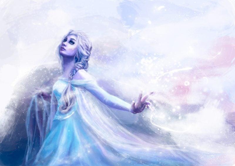 coole hintergründe geile hintergrundbilder schneekönigin