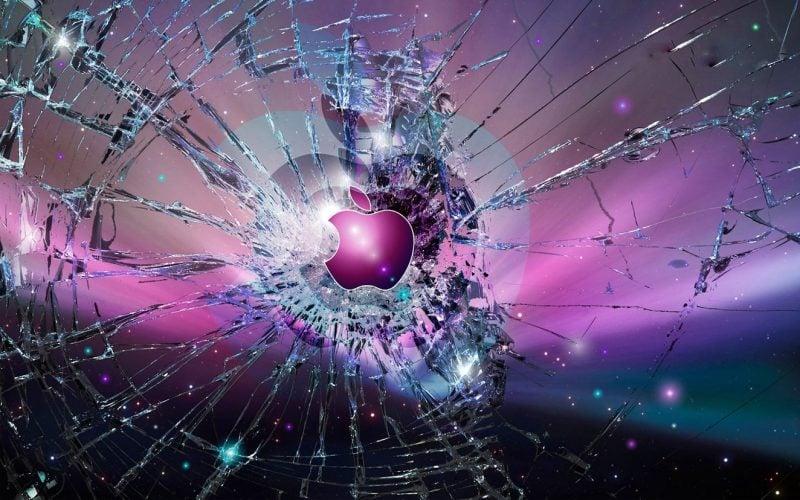 coole hintergrundbilder für jungs apple motive kaputter bildschirm geile hintergründe