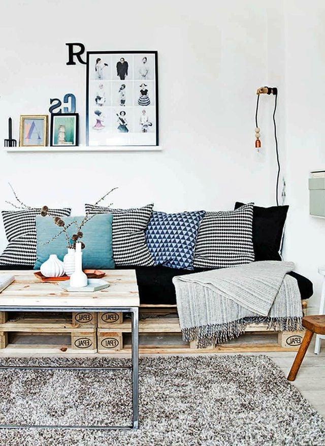 couch aus paletten palettenmöbel selber bauen