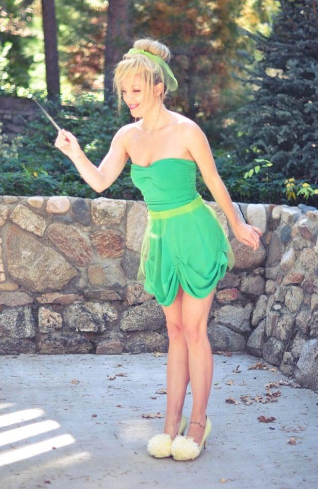 Tinkerbell Kostüm selber machen