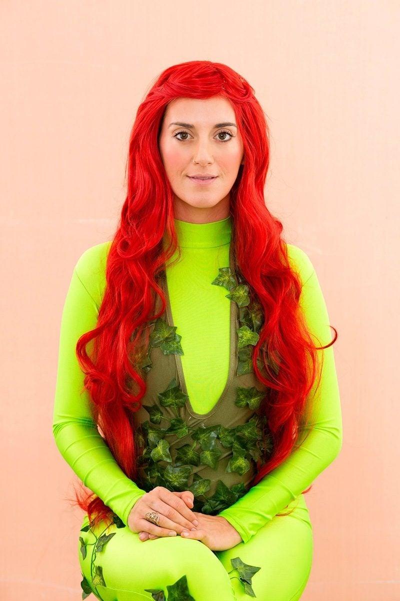 efeublatt kostüm kreative fasching ideen karneval kostüme fastnachtkostüm fasnets kostüme