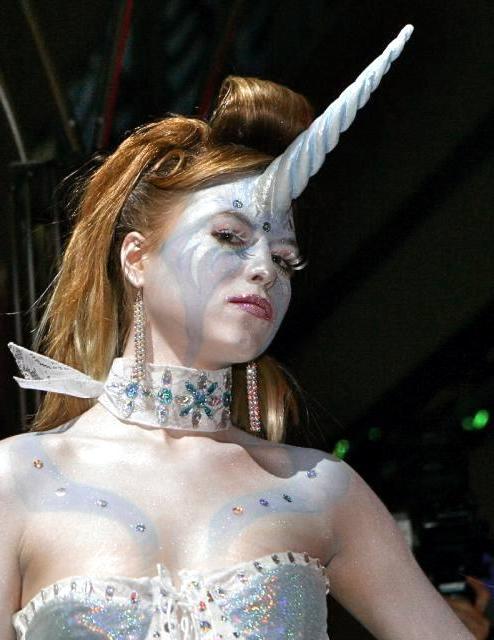 einhorn kostüm fasching ideen frauen coole faschingskostüme verkleidung