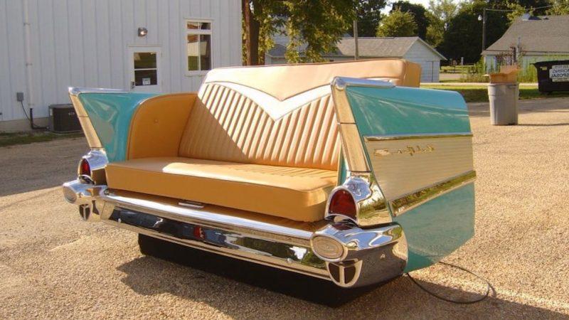 mobel aus alten autoteilen beste bildideen zu hause design. Black Bedroom Furniture Sets. Home Design Ideas