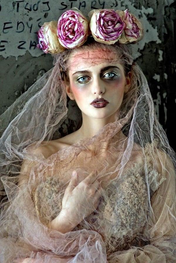 fasching verkleidung coole accessoires kostüme schminken karneval themen blumen mädchen