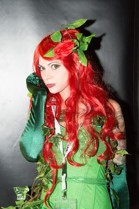 elfe karneval kostüm ideen coole accessoires fastnachtkostüm haar rot