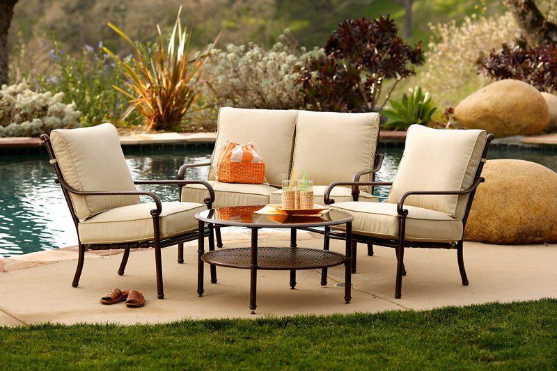 Hochwertige Gartenmöbel vereinen Schönheit und höchsten Komfort!