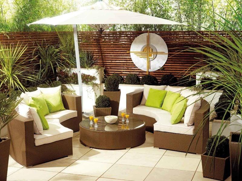 Hochwertige Gartenmöbel sind überraschend bequem!